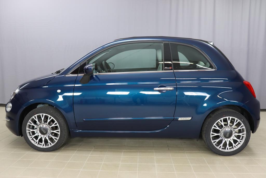 1.0 GSE N3 500C Cabrio Star  BSG Hybrid 6GANG 687 Epic Blue 636
