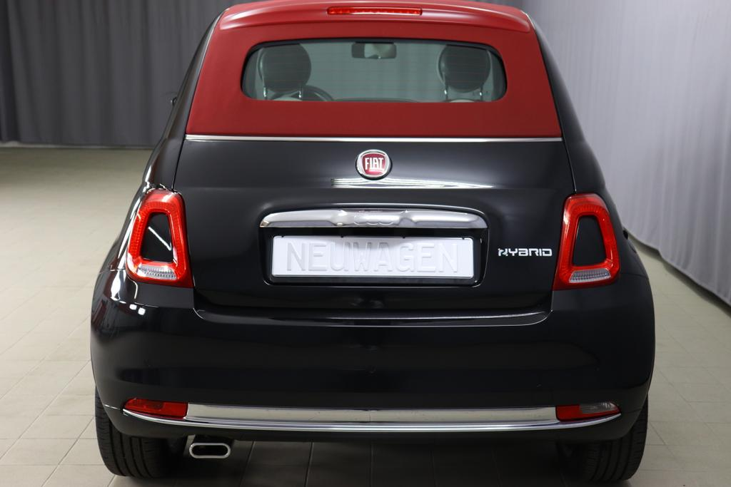 Fiat 500c Star Uvp 22755 00 1 0 Gse Verdeck Rot Navigatiionsysten Dab 7 Zoll Tft Display Lederschaltknauf Stop Start Apple Android Einparkhilfe Hinten Nebelscheinwerfer Regensensor U Lichtsensor Pdc 16 Leichtmetallfelgen Klimaautomatik U