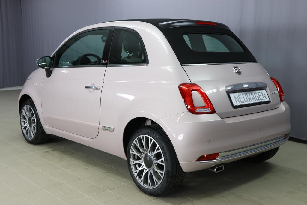 1.0 GSE N3 500C Cabrio Star  BSG Hybrid 6GANG 494 Stella Weiß