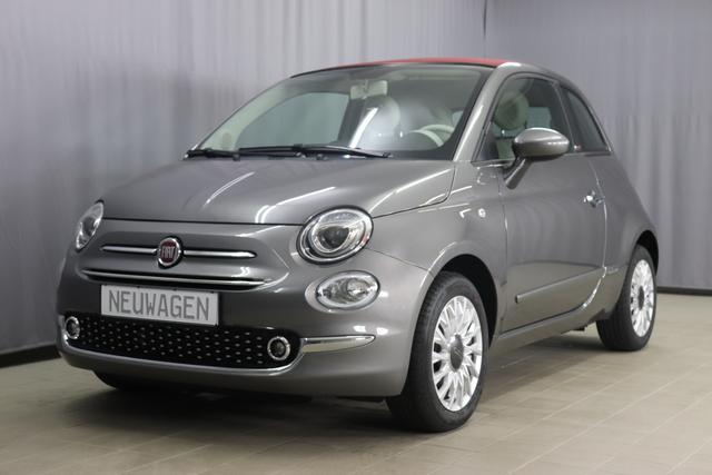 Fiat 500C - Lounge Sie sparen 6.730 Euro 1,2 Verdeck Rot, Serie 8, Modell 2020, Uconnect Radio mit 7
