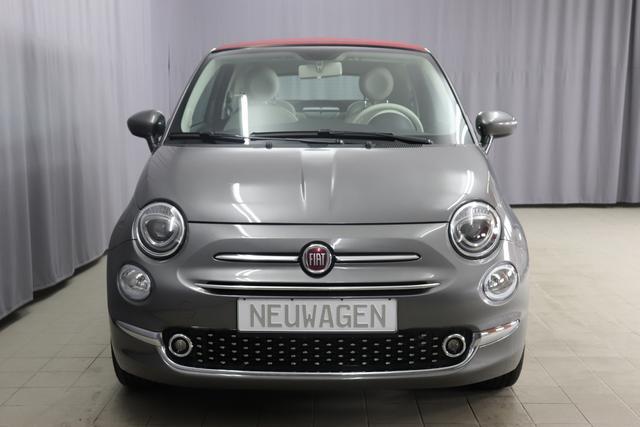 Fiat 500C - Lounge Sie sparen 7.730 Euro 1,2 Verdeck Rot, Serie 8, Modell 2020, Uconnect Radio mit 7