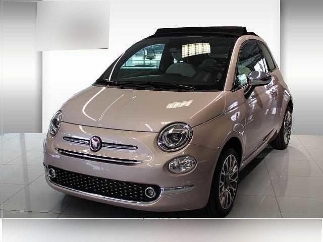 Fiat 500C - 1.2 Serie 7 Lounge , PDC, Klima, 7' NAVI, Dach schwarz