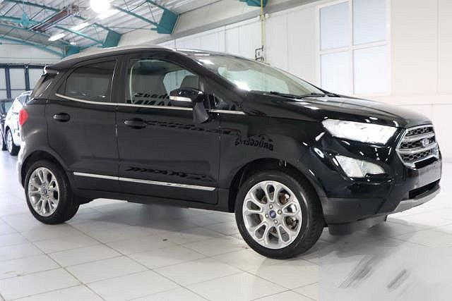 Ford EcoSport - 1,0 ECOBOOST AUTO. TITANIUM NAVI XENON GSD LEDER LM17