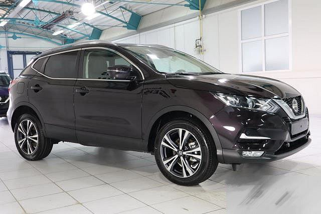 Nissan Qashqai - 1,3 DIG-T DCT AUTO. N-CONNECTA PANORAMA RELING FRONTSCHEIBENHEIZUNG