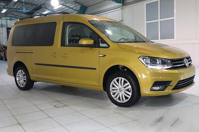 Volkswagen Caddy - ADBLUE DSG MAXI MJ 2020 TRENDLINE KLIMAAUTO NAVI 7-SITZER PDC