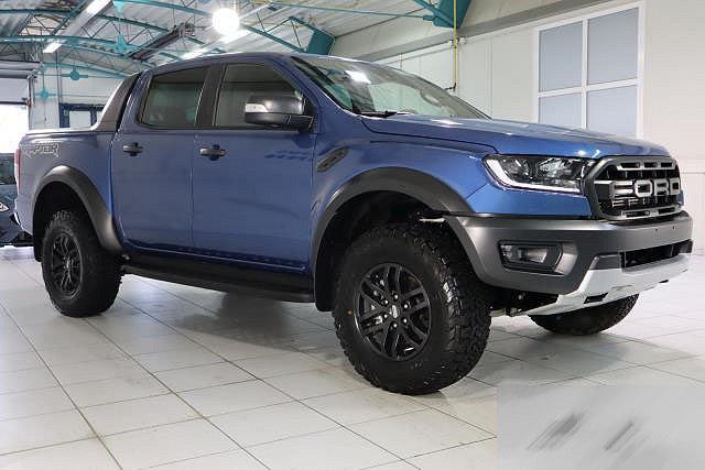 Ford Ranger - RAPTOR 2,0 ECOBLUE BI-TURBO 4X4 AUTO. DOKA NAVI XENON AHK MJ 2020
