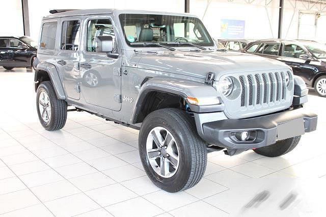 Jeep Wrangler - JL 2,2 CRDI UNLIMITED 4WD SAHARA HÖHER 50 MM, SKY ONE TOUCH VERDECK