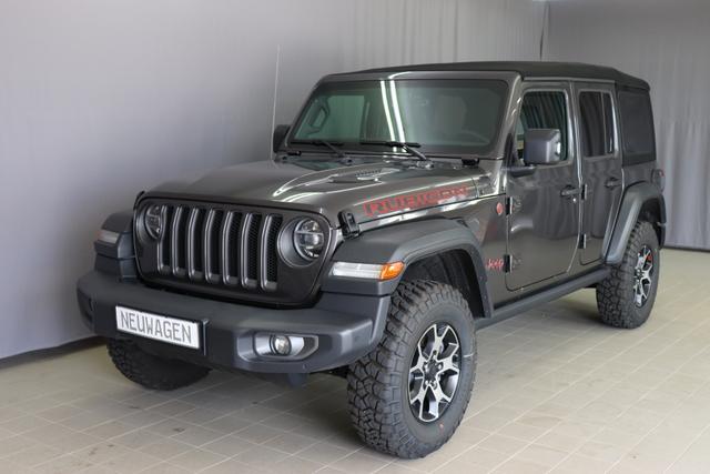 Jeep Wrangler - Rubicon Sie sparen Euro 16.790,00 2,0 T-GD 272 PS Automatikgetriebe DSG 4 WD, Voll-Leder, 3D-Navigation mit DAB, Keyless -Go, Alarmanlage, ParkSense, Voll-LED-Scheinwerfer uvm.