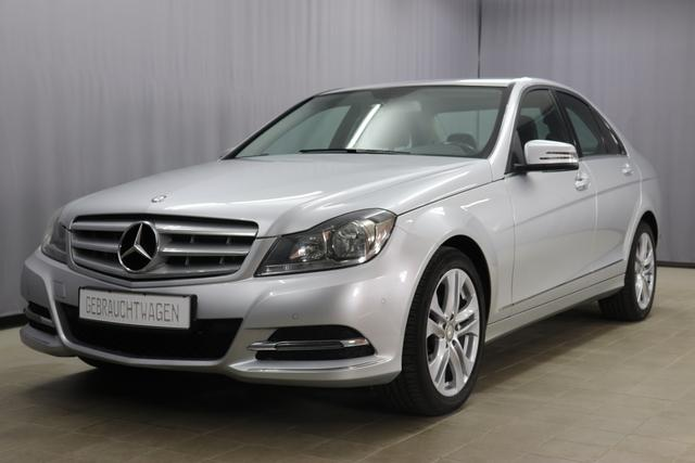 Mercedes-Benz C-Klasse Limousine - Avantgarde C 180 1.6 Klimaautomatik, PDC vorne und hinten, Start/Stop, Licht& Regensensor, Sitzheizung vorne, Berganfahrhilfe, Isofix, Zentralverriegelung, uvm.