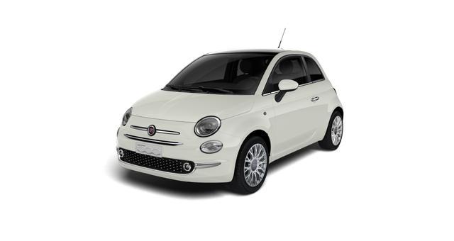 Fiat 500 - Star Sie sparen 5.900 Euro 1,2 8V Automatik, Vollleder, Sky-Dome Panorama, Navigationssystem, DAB, Klimaautomatik, PDC hinten, Apple Carplay / Android Auto, Licht und Regensensor, 16 Zoll Alufelgen, Notrad uvm.