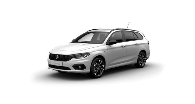 Fiat Tipo Kombi - S-Desinge Sie sparen 8.300€ 1,4 88KW Navigationssystem, Bi-Xenon Scheinwerfe, DAB, MJ 2020, Rückfahrkamera, Apple CarPlay, Licht- und Regensensor, Sitzheizung vorn, 18