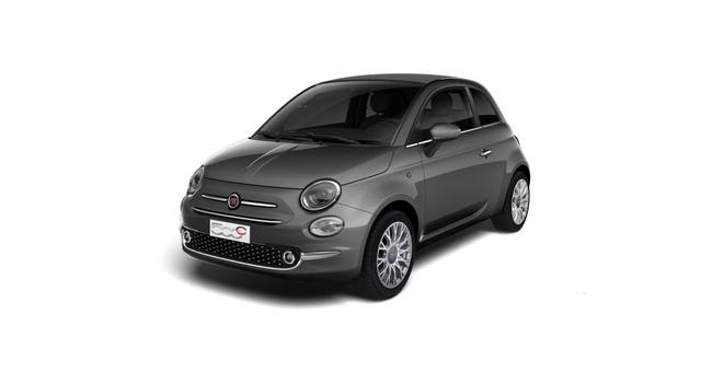 Fiat 500C - Star Sie sparen 5.600 Euro 1,2 8V Automatik, Verdeckfarbe GRAU, Navigationssystem, DAB, Klimaautomatik, PDC hinten, Apple Carplay / Android Auto, Licht und Regensensor, 16 Zoll Alufelgen, Notrad, Windschott uvm.