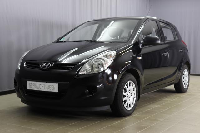Hyundai i20 - Pure 1.2 77 PS, Bordcomputer, Außentemperaturanzeige, Radio/ CD/ MP3, AUX-Anschluss,Klimaanlage, Nebelscheinwerfer, uvm.