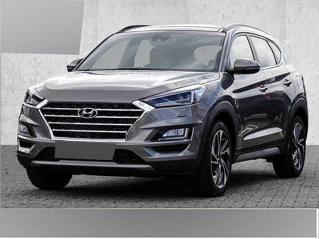 Hyundai Tucson - 1.6 GDi 4WD DCT Premium Panoramadach Leder-Paket Moss Grey ASCC Navi