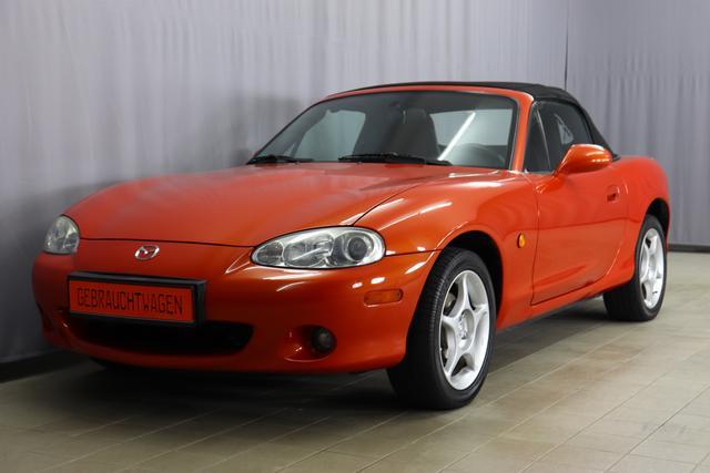Gebrauchtfahrzeug Mazda Mazda5 - 1.6 110 PS, Cabrio, Sitzheizung, Ledersportsitze & Lederschaltknauf, Radio/CD, Nebelscheinwerfer, 16 Zoll Leichtmetallfelgen, uvm.