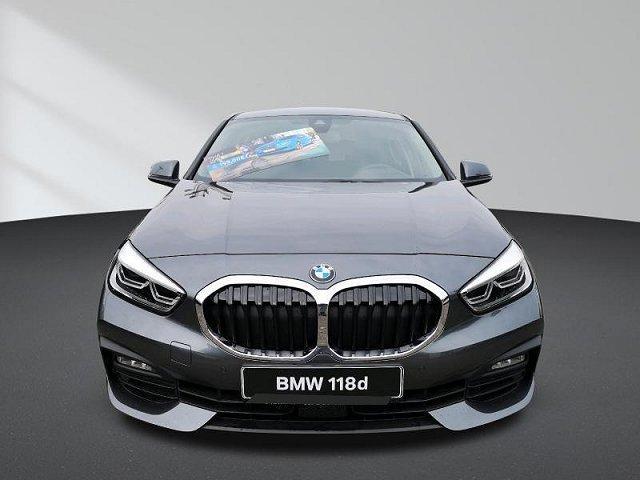 BMW 1er - 118d 5-Türer Sport-Aut Advantage Business Prof