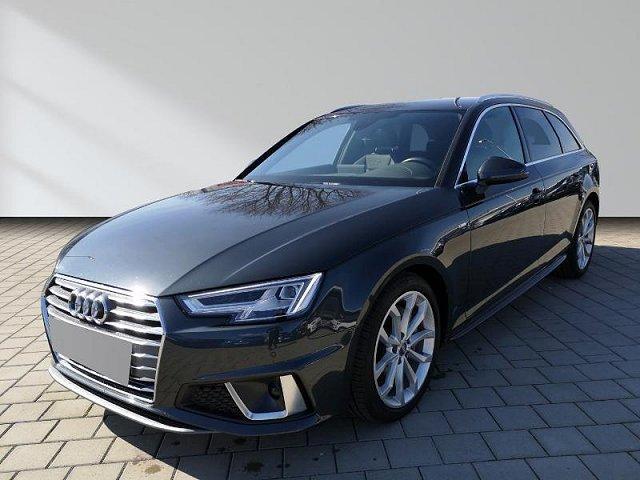 Audi A4 Avant - 40 TDI S tronic sport S-Line AHK LED Navi Leder ACC 18 Rückfahrkamera