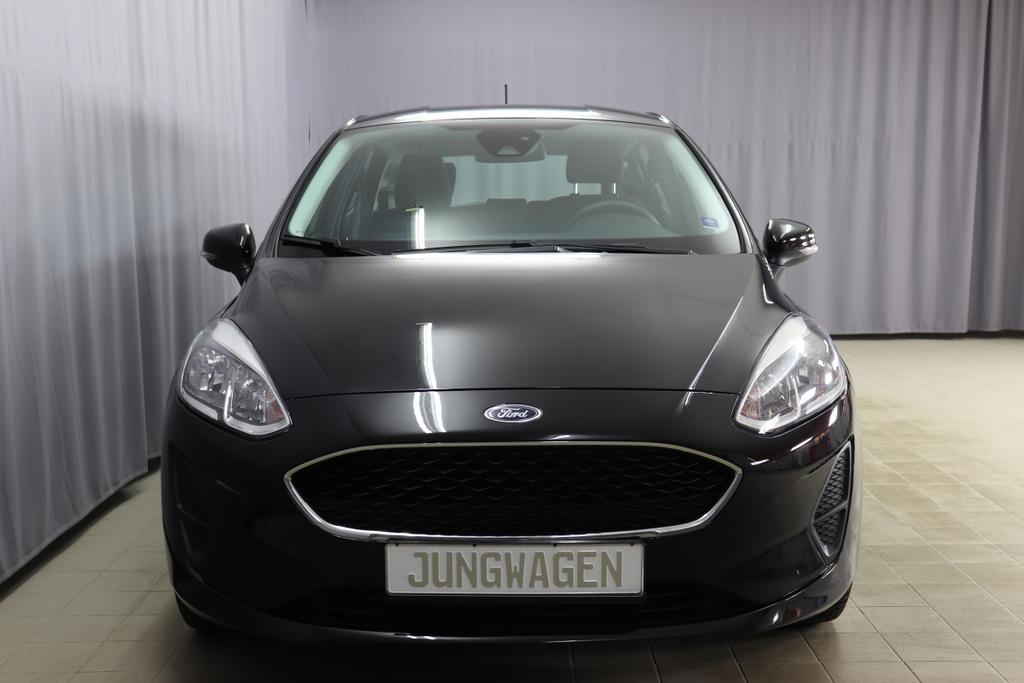 Ford Fiesta/ 1.1 Trend/ 1,1 Benzin/ 5-Gang SchaltgetriebeBenzin/ 52kW      71PS  135co25-Gang SchalterIridium Schwarz UniStoff anthrazit