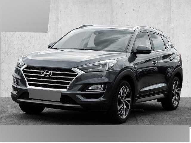 Hyundai Tucson - blue 2.0 CRDi 4WD Aut. Premium Navi Sitzheizung Rückfahkamera