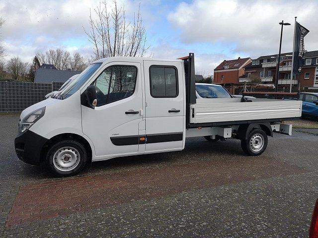 Opel Movano - L3H1 DoKa Pritsche+Klima+ AHK,