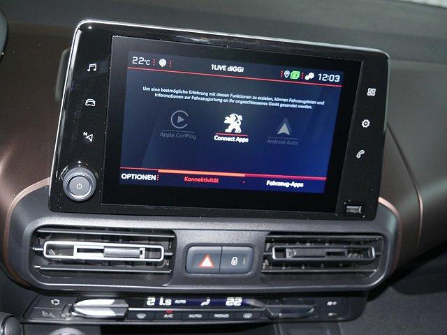 Peugeot Rifter - L2 GT-Line 1.5 BlueHDi 130 SHZ NAVI ACC