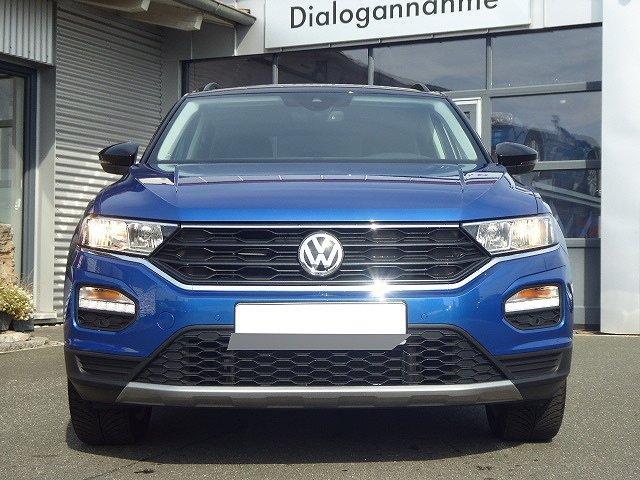Volkswagen T-Roc - Style TSI +ACC+AHK+ZWEIFARBIG+DACH SCHWARZ