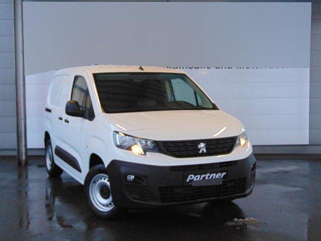 Peugeot Partner - Premium L1 1.6 BlueHDi 100 Multiflex Doppelbeifahrersitzbank, Einparkhilfe hinten