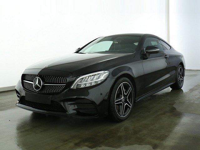 Mercedes-Benz C-Klasse - C 180 Coupé AMG Line 9G Night LED Navi Kamera BT