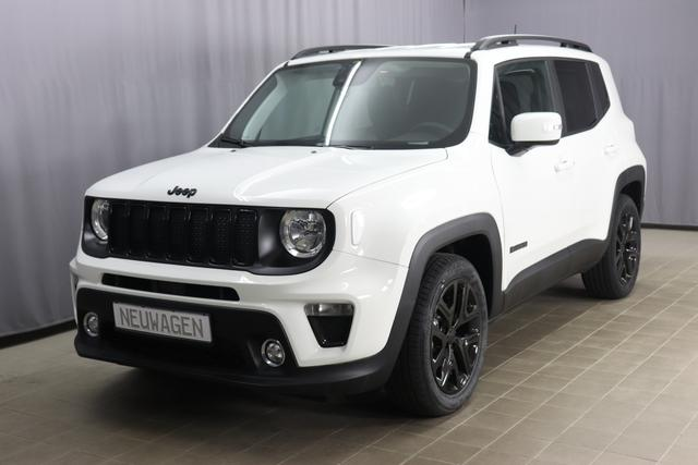 Jeep Renegade - Night Eagle 1.0 Sie Sparen 8.330 Euro, 120PS, Klimaautomatik, Navigationssystem, Apple CarPlay, Isofix, Licht&Regensensor, Nebelscheinwerfer, 18 Zoll Leichtmetallfelgen in Schwarz, uvm.