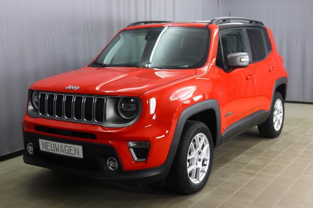 Jeep Renegade - Limited Sie Sparen 7.309 Euro, 1.3 180PS 4x4, Navigationssystem, Klimaautomatik, Multifunktionslederlenkrad, Apple Car/Play, Isofix, Voll LED, Nebelscheinwerfer, 17 Zoll Leichtmetallfelgen, uvm.