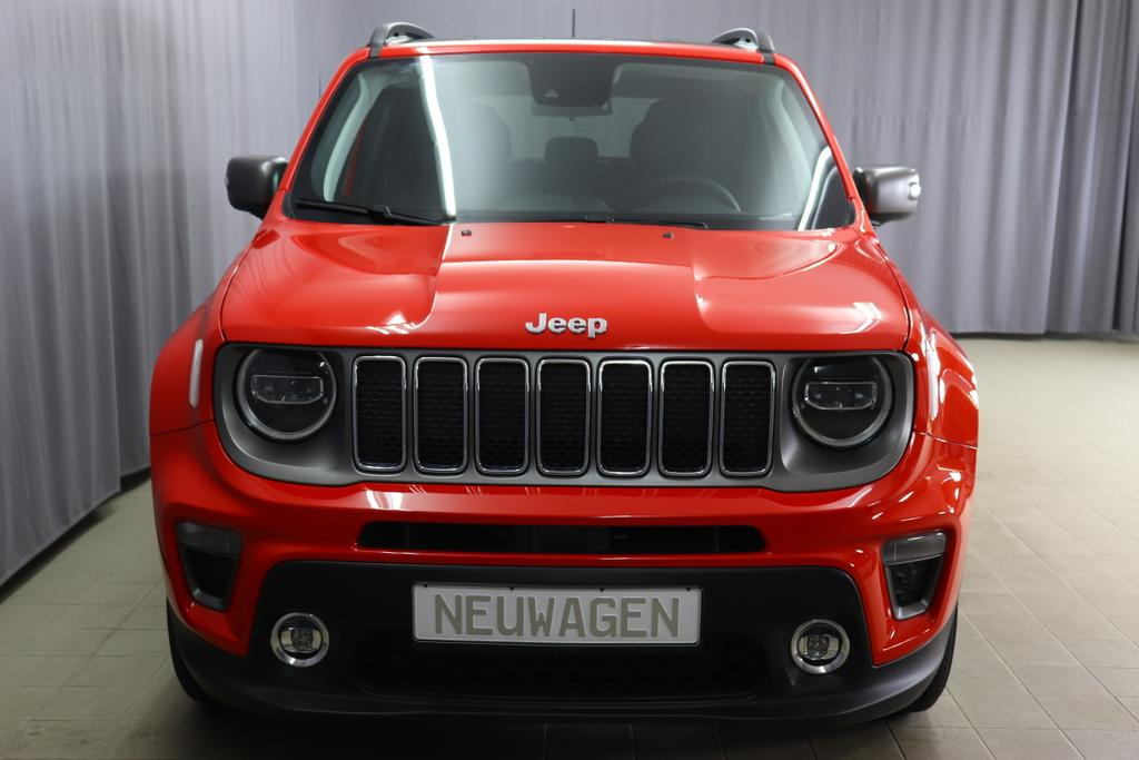Renegade 1,3 GSE 132kW 180PS T4 Limited 4WD176 ColoradoRed074 Stoff Premium Schwarz