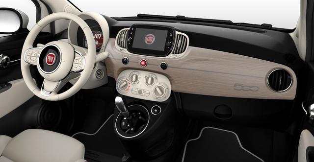 Fiat 500 - DOLCEVITA Sie sparen 6.570 Euro 1,2 8V Automatik, Vollleder, Schaltwippen, Hifi-System BEATS AUDIO, Panorama, Navigationssystem, DAB, Klimaautomatik, PDC hinten, Apple Carplay / Android Auto, Licht und Regensensor, 16 Zoll Alufelgen uvm.