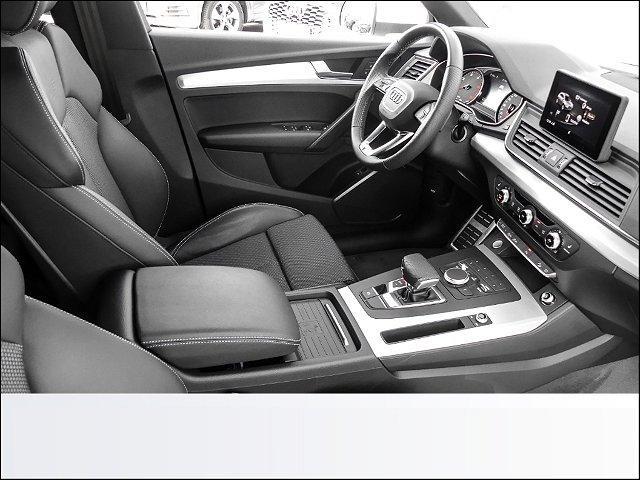 Audi Q5 40 TDI quattro S line sport tronic AHK*Keyless go*Navigation*Teilleder