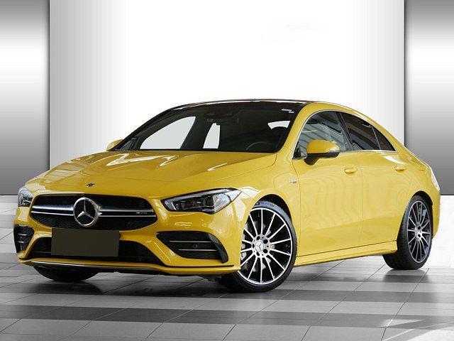 Mercedes-Benz CLA-Klasse AMG - CLA 35 Coupe 4M PTS NAVI LED 2,99 EFF* EU6