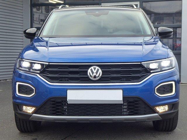 Volkswagen T-Roc - Style TSI DSG +DACH SCHWARZ+LED+KAMERA+ACC