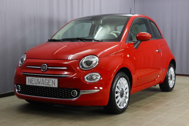 Fiat 500 - Lounge Sie sparen 6270,00 Euro 1,2 8V DUALOGIC Panoramadach, Klimaautomatik, PDC hinten, Apple Carplay / Android Auto, Licht und Regensensor, Nebelscheinwerfer, 15 Zoll Alufelgen, Notrad, COMFORT PAKET uvm.