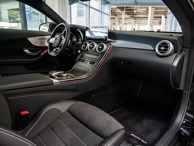 Mercedes-Benz C-Klasse - C 400 Coupe AMG Line 4M Distr+ Comand Pano Mbeam