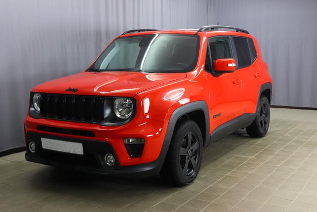 Jeep Renegade - Night Eagle 1.0 120PS, 2-Zonen Klimaautomatik, Navigationssystem, Multifunktionslederlenkrad, PDC hinten, Nebelscheinwerfer, 16 Zoll Leichtmetallfelgen, uvm.