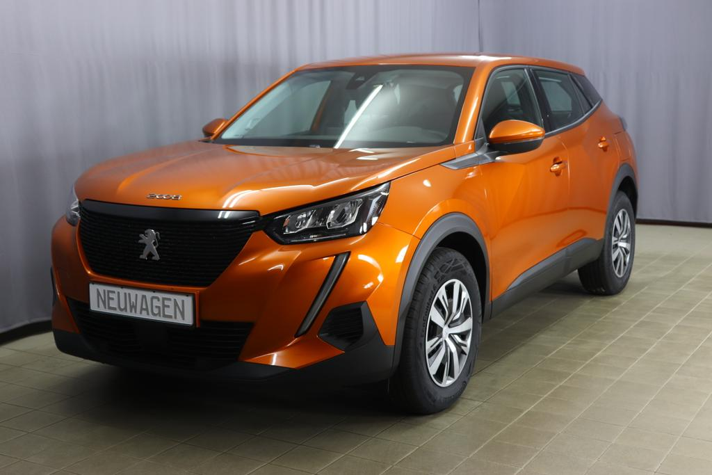 Peugeot 2008 Active Pure Tech 100Orange Fusion	Stoff