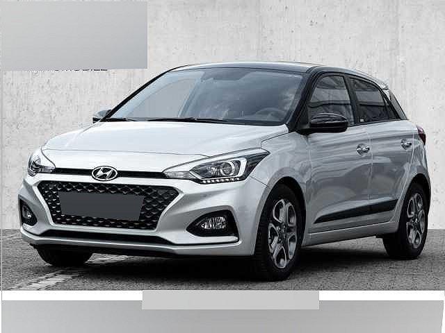Hyundai i20 - blue 1.0 T-GDI DCT Style Navi-Paket Style-Paket Sitzheizung Lenkradheizung