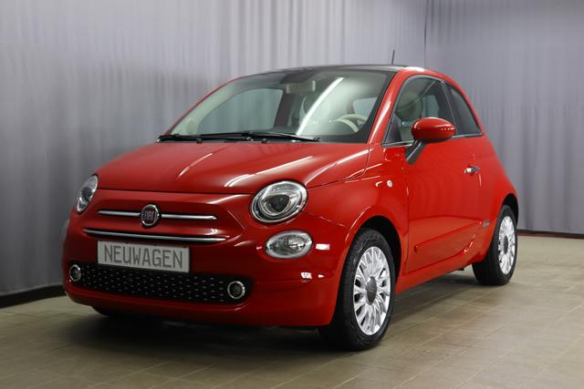 Fiat 500 - Lounge Sie sparen 6070,00 Euro 1,2 8V DUALOGIC Panoramadach, Klimaautomatik, PDC hinten, Apple Carplay / Android Auto, Licht und Regensensor, Nebelscheinwerfer, 15 Zoll Alufelgen, Notrad, COMFORT PAKET uvm.