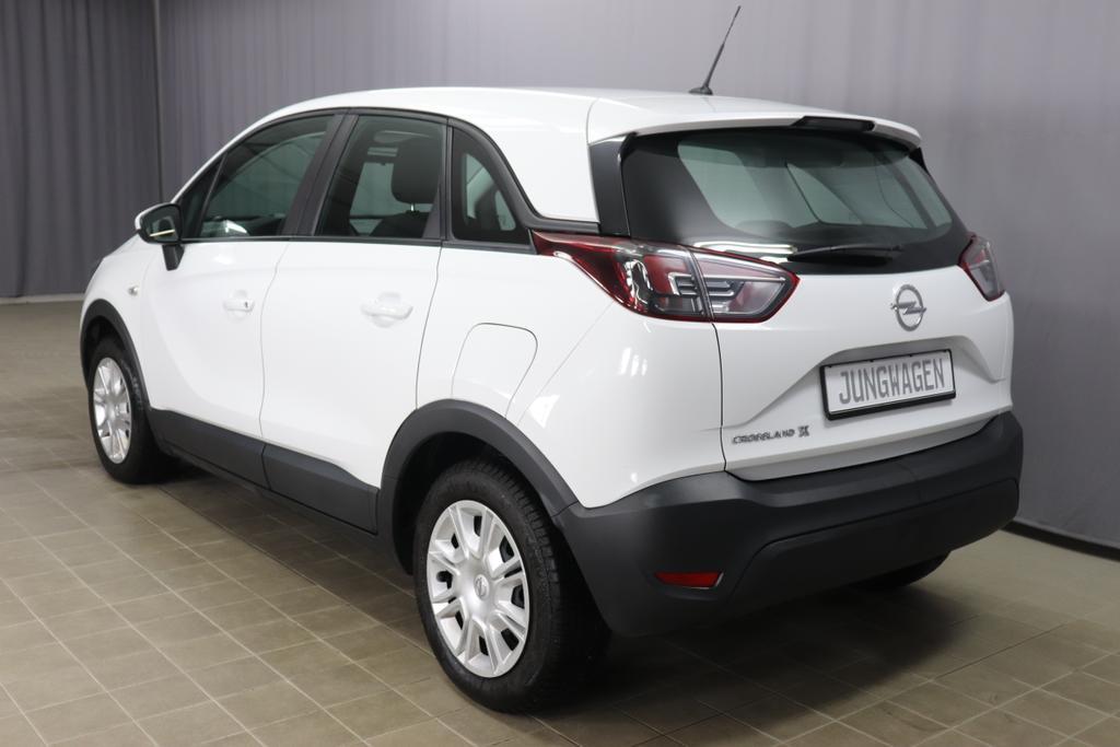 Opel Crossland X 1.2 Enjoy Benzin 5-Gang Schalter Weiß Uni 83 PS Stoff anthrazit