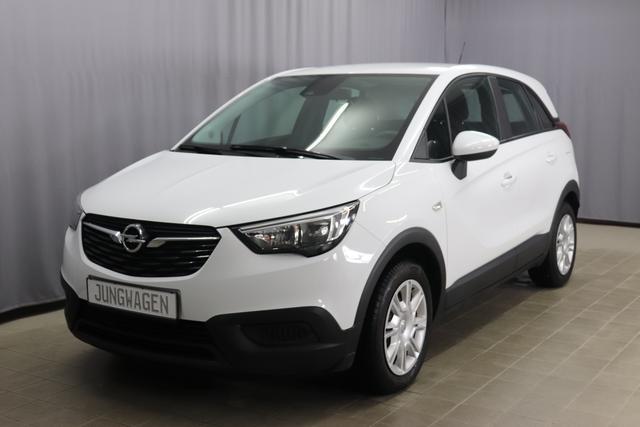 Opel Crossland X - Enjoy 1.2 82PS, Klimaautomatik, Multifunktionslenkrad, Bluetooth, Touchscreen, Lichtsensor, Tempomat, Isofix, 16 Zoll Stahlfelgen, uvm.