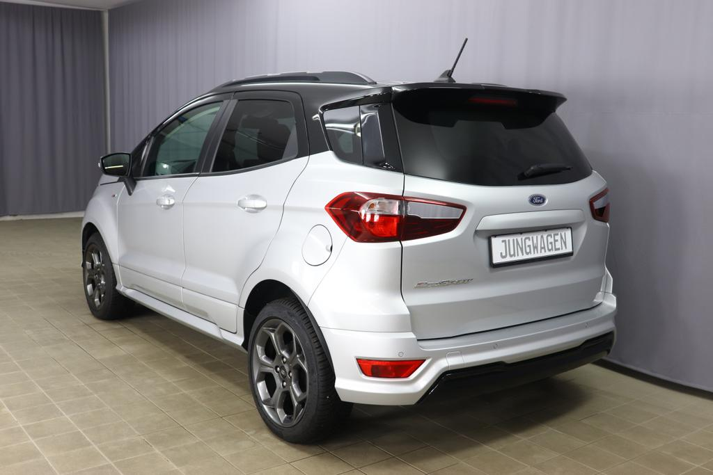 Ford EcoSport 1.0 Eco Boost ST Line Automatik 125 PS Polar Silber Teilleder