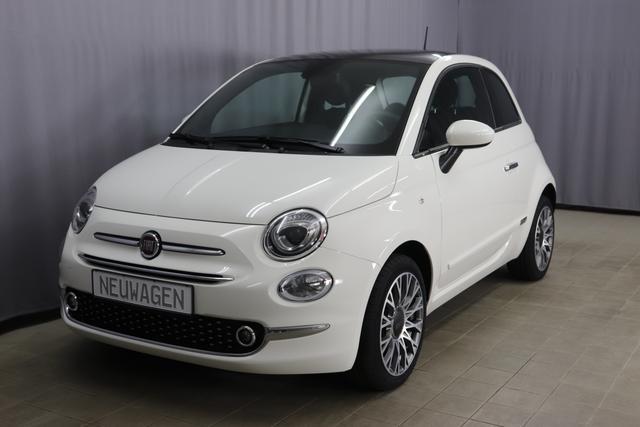 Fiat 500 - Star Sie sparen 7.265 Euro 1,0 Hybrid Glasdach, Navigationssystem, DAB, MJ 2020, Klimaautomatik, Instrumentenanzeige als 7