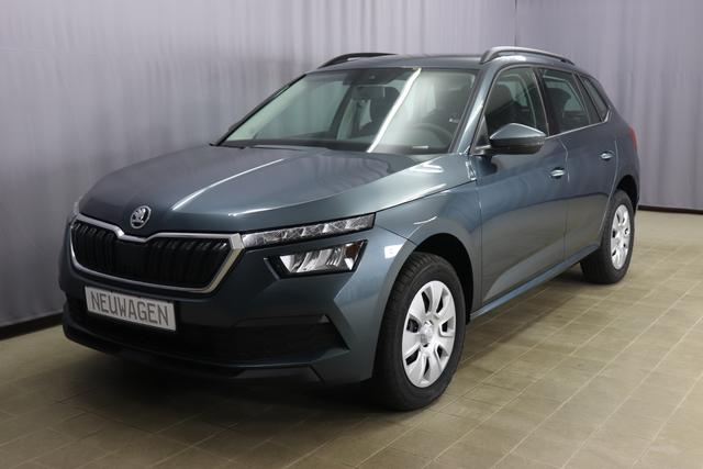 Skoda Kamiq - Active Sie Sparen 3.557 Euro, 1.0 95PS, Klimaanlage, Isofix, 6,5 Zoll Multitouch-Display, Apple CarPlay & Android Auto, Lichtsensor, Tempomat, LED Licht, 16 Stahlfelgen, uvm.