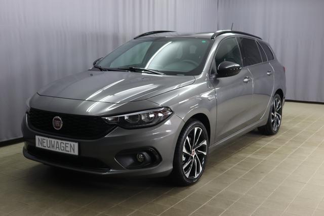 Fiat Tipo Kombi - S-Desingn Sie sparen 8.300€ 1,4 88KW Navigationssystem, Bi-Xenon Scheinwerfe, DAB, MJ 2020, Rückfahrkamera, Apple CarPlay, Licht- und Regensensor, Sitzheizung vorn, 18