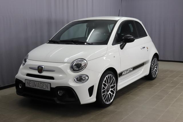 "Abarth 595 Sie sparen 4.880€ 1,4 T-Jet Navigationssystem, DAB, MJ 2020, Apple CarPlay, 17""- Leichtmetallfelgen, LED-Tagfahrlicht, 7 Zoll TFT Farbdisplay, Analoges Manometer, Nebelscheinwerfer, Kit Estetico Schwarz uvm."