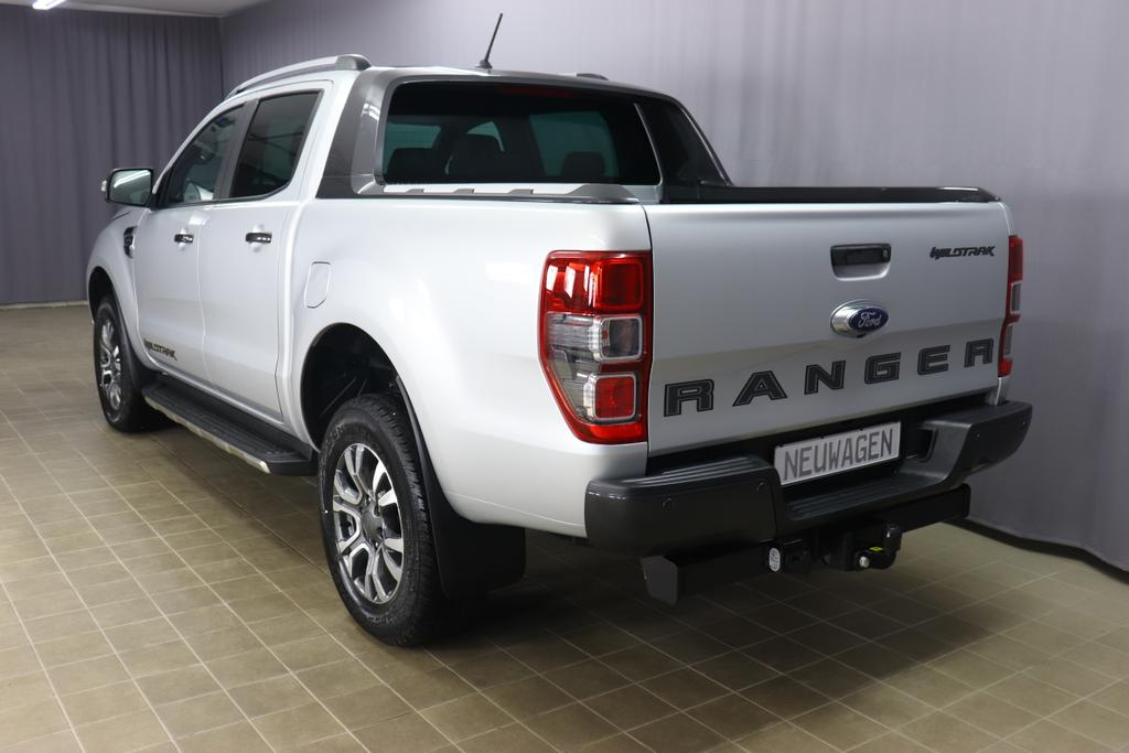 Ford Ranger Pick Up WildtrakSilber Metallic 	Mette in Ebony - Sitzpolster: Journey Grain-Leder in Ebony