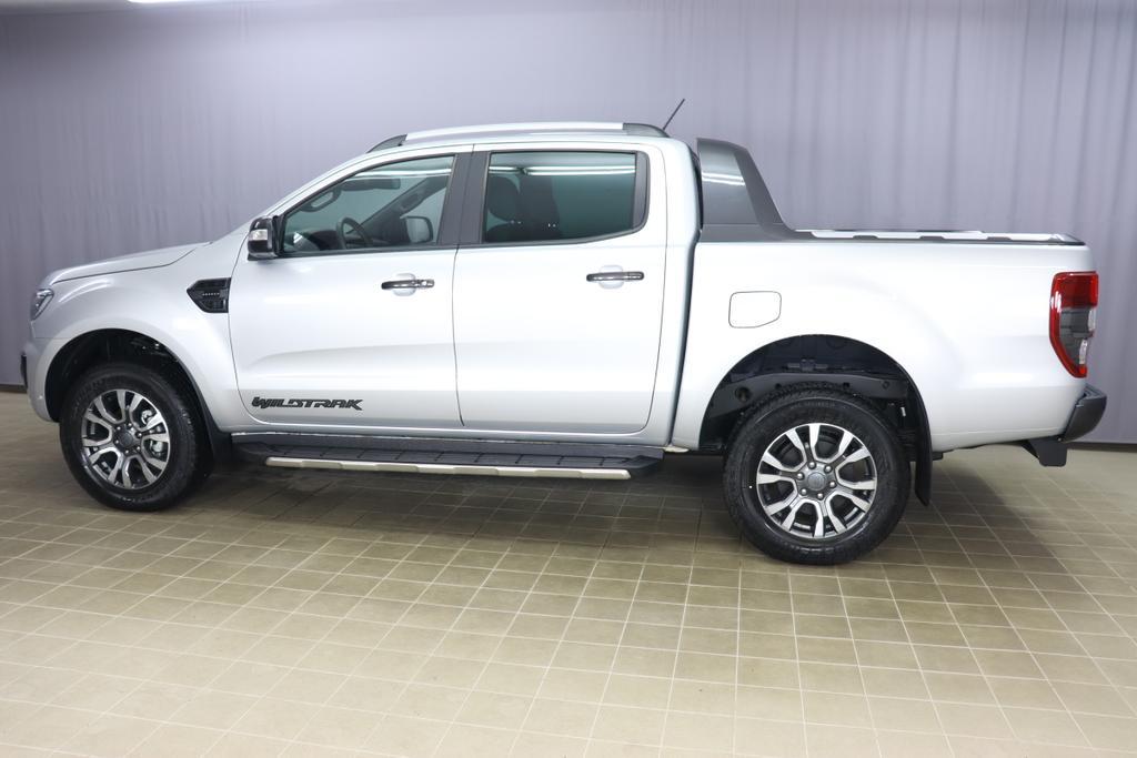 Ford Ranger Pick Up WildtrakSilber Metallic Mette in Ebony - Sitzpolster: Journey Grain-Leder in Ebony
